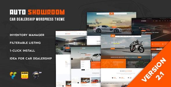 Auto Showroom 2.1 – Car Dealership WordPress Theme