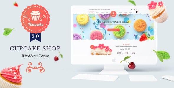 Noucake 2.0.20 – Bakery WordPress Theme