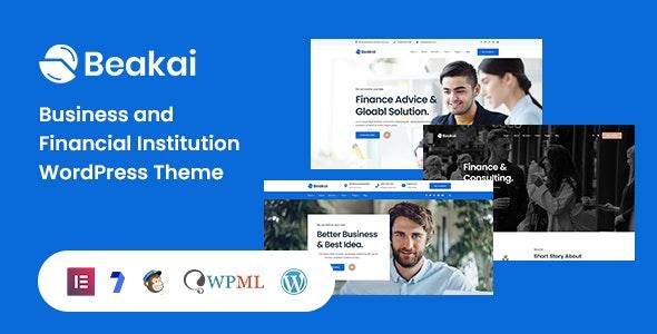 Beakai 1.0.4 – Multipurpose Business WordPress Theme