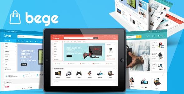Bege 1.3.7 – Responsive WooCommerce WordPress Theme