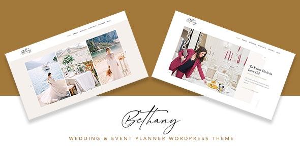 Bethany 1.0 – Wedding & Event Planner WordPress