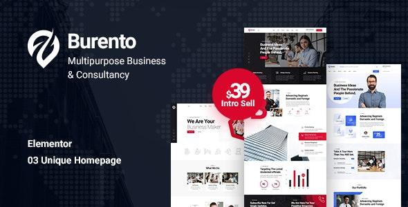 Burento 1.0 – Multipurpose Business WordPress Theme