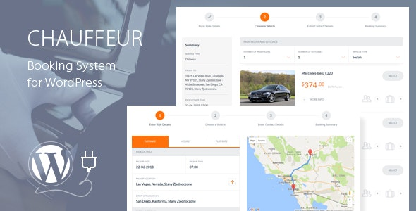Chauffeur 5.8 – Booking System for WordPress