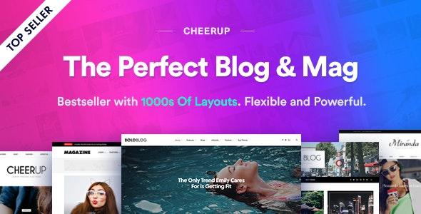 CheerUp 7.6.1 – Food, Blog & Magazine