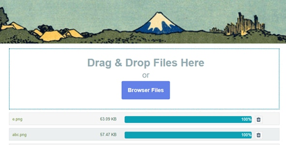 Contact Form 7 Drag and Drop Files Upload – Multiple Files Upload v7.3.4