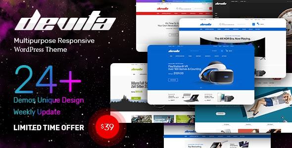 Devita 1.7.0 – Multipurpose Theme for WooCommerce WordPress