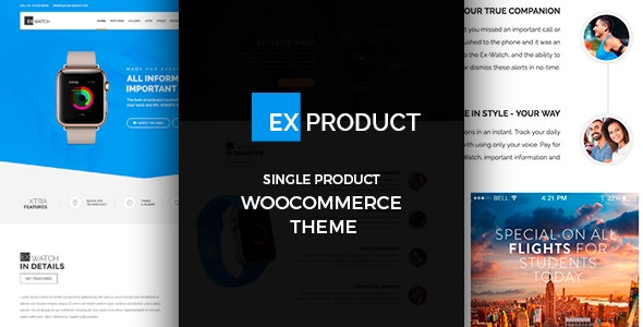 ExProduct 1.5.8 – Single Product Theme