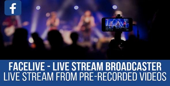 FaceLive 1.1.0 – Live Stream Broadcaster Plugin for WordPress