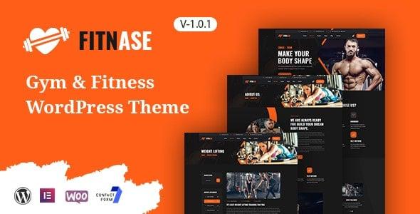 Fitnase 1.0.1 – Gym And Fitness WordPress Theme