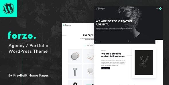 Forzo 1.3.3 – Creative Agency Theme
