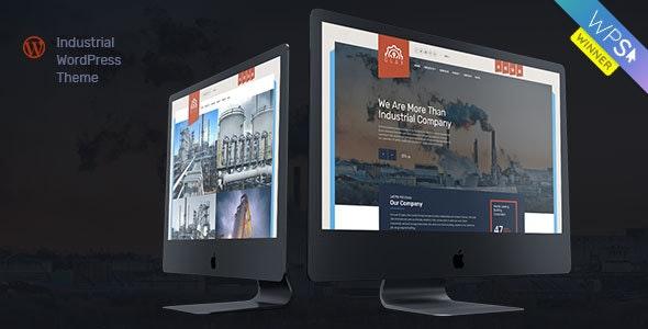 Glax 1.3.0 – Industry WordPress Theme