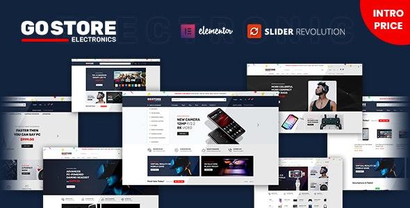 GoStore 1.0.5 – Elementor WooCommerce WordPress Theme