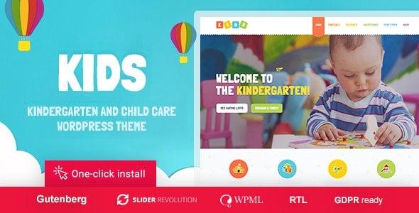 Kids 1.1.8 – Day Care & Kindergarten WordPress Theme for Children