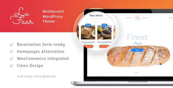 Lafaar 1.6.3 – Restaurant & Food Menus WooCommerce Theme