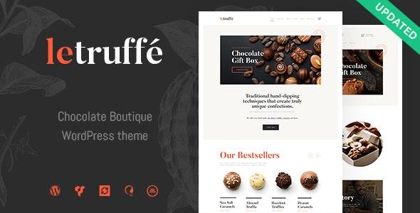 Le Truffe 1.1.1 – Chocolate Sweets & Candy Store WordPress Theme