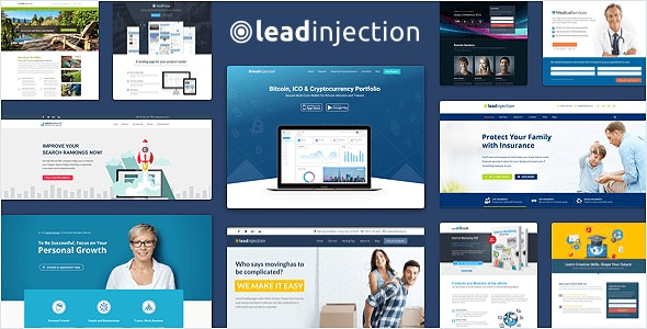 Leadinjection 2.3.14 – Landing Page Theme