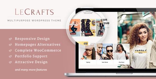 LeCrafts 3.11.5 – WooCommerce Marketplace Themes