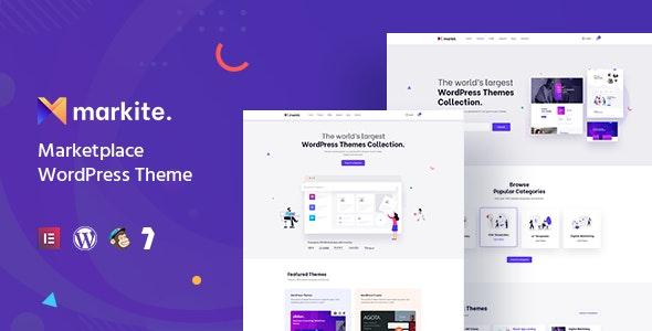Markite 1.1.1 – Digital Marketplace WordPress Theme