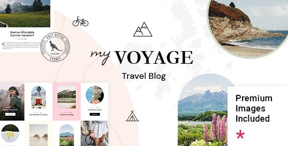 MyVoyage 1.0 – Travel Blog WordPress Theme
