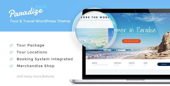 Paradize 2.2.4 – WordPress Tour/Travel Theme