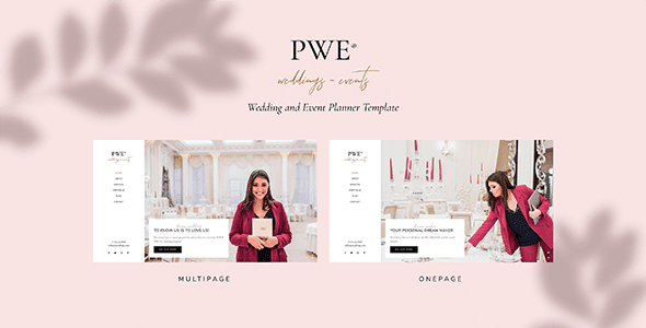 PWE 1.0 – Wedding and Event Planner Template