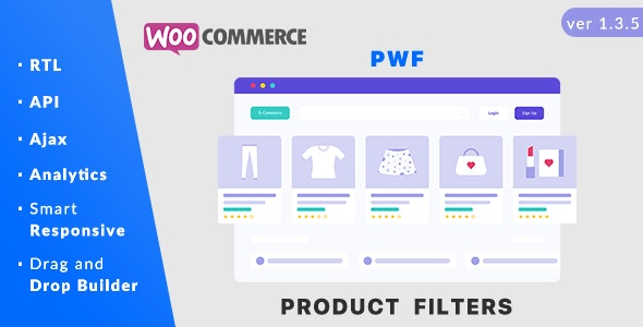 PWF WooCommerce Product Filters v1.4.1