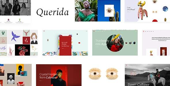Querida 1.1.1 – Creative Agency Theme