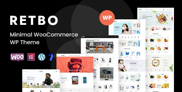 Retbo 1.0.9 – Minimal WooCommerce WordPress Theme