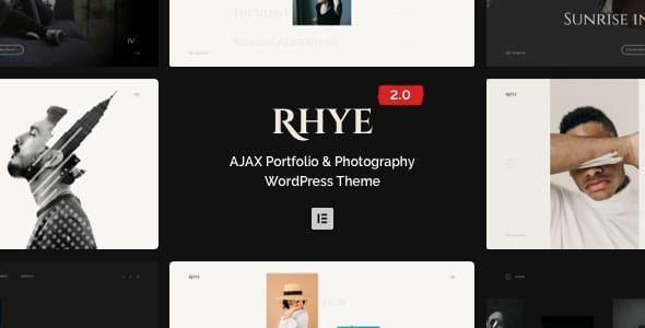 Rhye 2.5.2 – AJAX Portfolio WordPress Theme