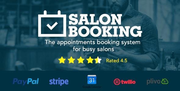Salon Booking WordPress Plugin v6.5.1