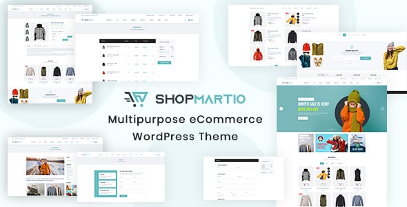 Shopmartio 1.0.0 – Multipurpose eCommerce WordPress Theme