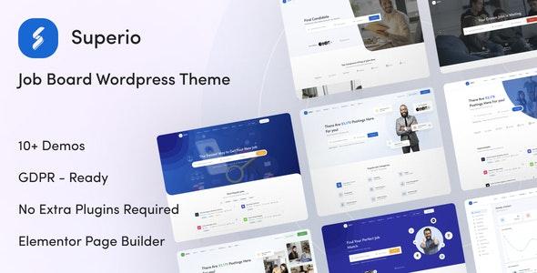 Superio 1.1.3 – Job Board WordPress Theme