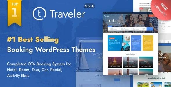 Traveler 2.9.5 – Travel Booking WordPress Theme