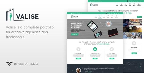 Valise 3.5 – Agency / Personal Portfolio Theme
