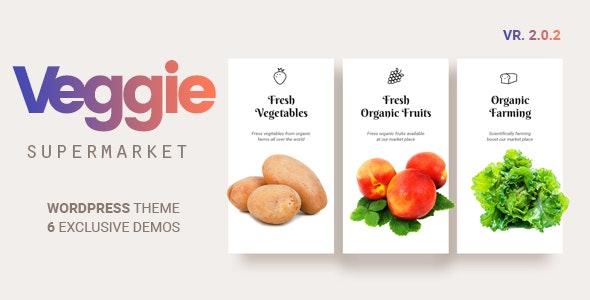 Veggie 2.0.8 – Vegetable and Fruit Shop WordPress Theme