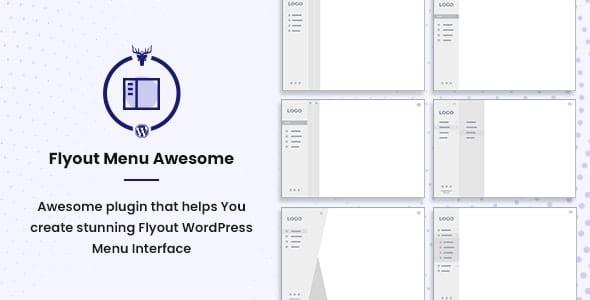 Flyout Menu Awesome 1.0.0 – Vertical Slide Menu WordPress Plugin