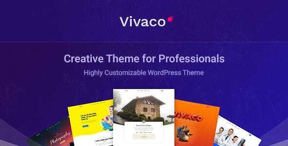 Vivaco 1.1 – Multipurpose Creative WordPress Theme