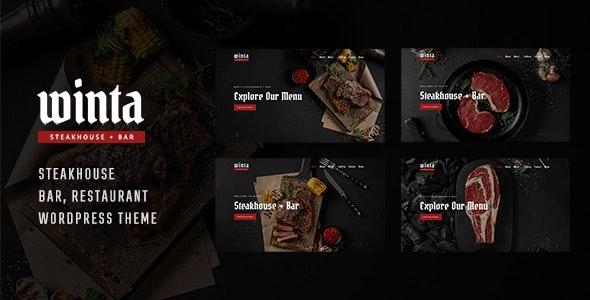 Winta 1.0 – Steakhouse Restaurant WordPress Theme