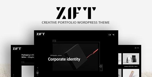 Zift 1.0.0 – Creative WordPress Portfolio