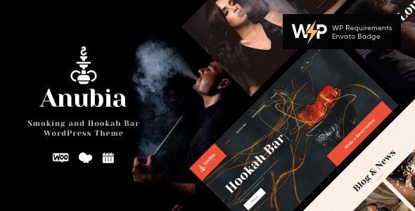 Anubia 1.0.5 – Smoking and Hookah Bar WordPress Theme