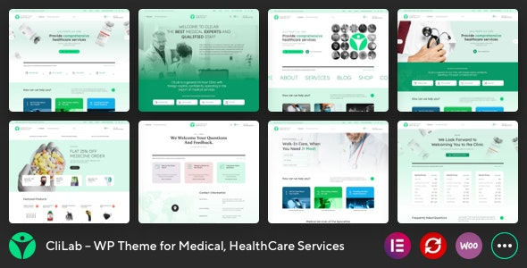 CliLab 1.0.2 – WP Theme for Medical, HealthCare Services