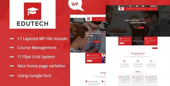 Edutech 2.0 – Education WordPress Theme