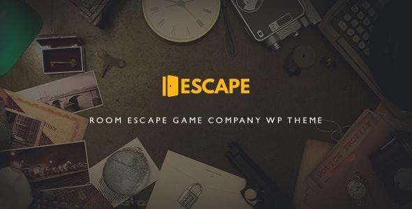 Escape 2.3 – Room Game Company WP Theme