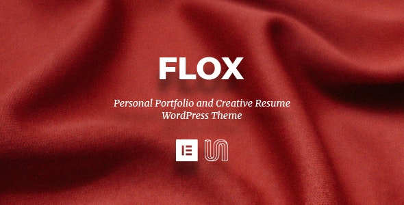 FLOX 1.2 – Personal Portfolio & Resume WordPress Theme
