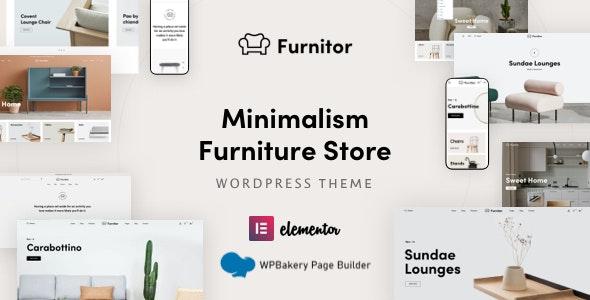 Furnitor 1.0 – Minimalism Furniture Store WordPress Theme