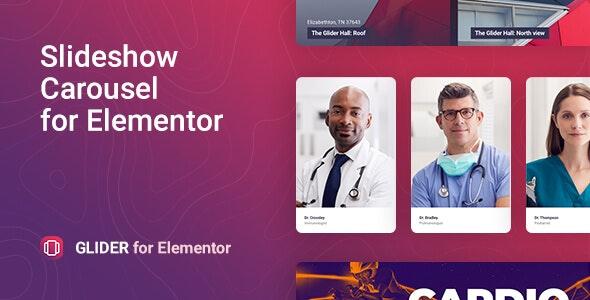 Glider 2.0.0 – Slideshow & Slider for Elementor