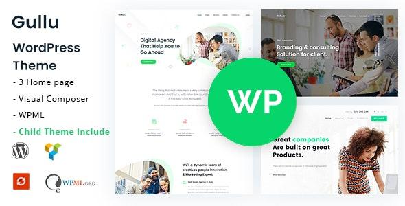 Gullu 2.0 – Creative Digital Agency & Multipurpose WordPress Theme