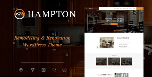 Hampton 1.1.6 – Home Design and Renovation WordPress Theme