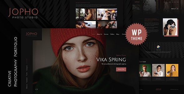 Jopho 1.0 – Creative Photography WordPress Theme