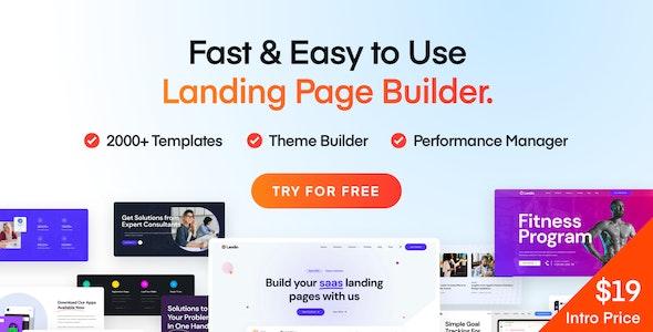 Landio 1.1.0 – Multi-Purpose Landing Page WordPress Theme